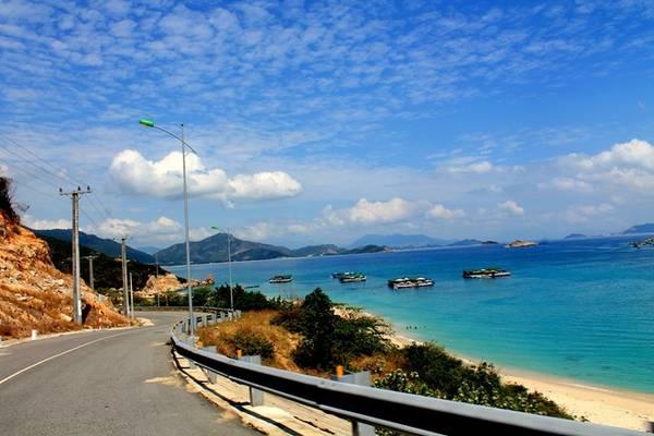 phượt trên đường ven biển Ninh Thuận