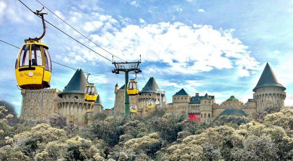 Bà Nà Hills địa điểm du lịch miền trung