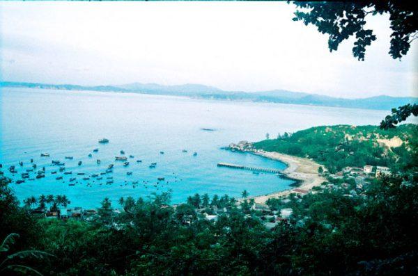 Cù lao xanh địa điểm du lịch miền Trung