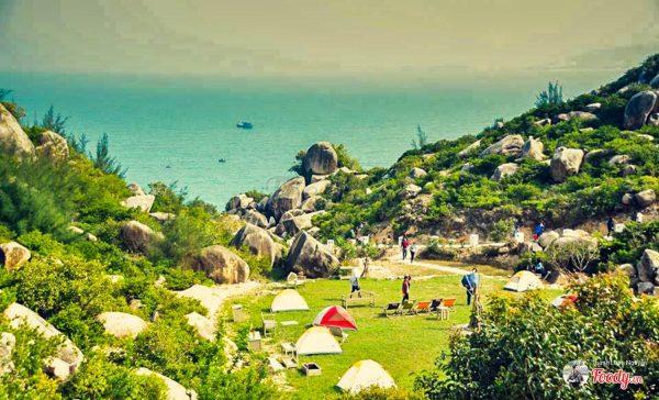 Khu căm trại Trung Lương địa điểm du lịch miền Trung