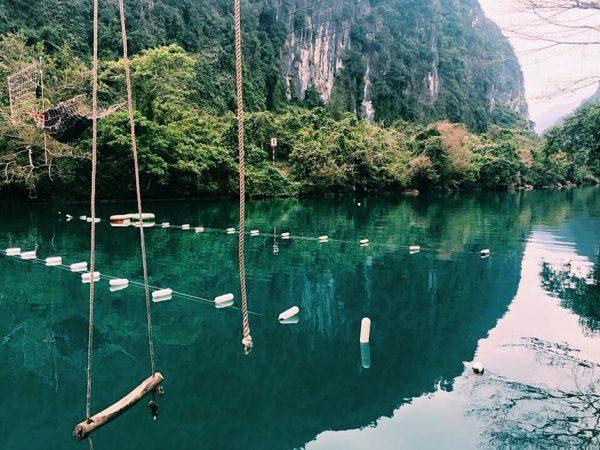 suối nước mooc quảng bình du lịch vạn người mê
