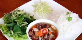 bún chả- ẩm thực Hà Nội