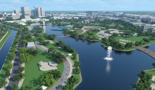 Công viên thành phố mới