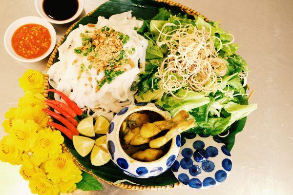 Mì Quảng Ếch Bếp Trang- quan ăn ngon Đà Nẵng