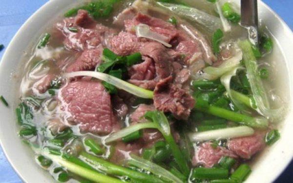 Phở bò Nam Định- đặc sản Nam Định