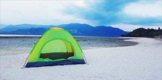 Cắm trại trên đảo Điệp Sơn