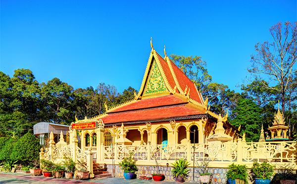 chùa âng - du lịch Trà Vinh