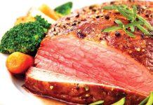 thịt bò tái kiến đốt tam đảo