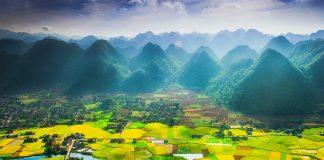 thung lũng bắc sơn điểm du lịch Lạng sơn