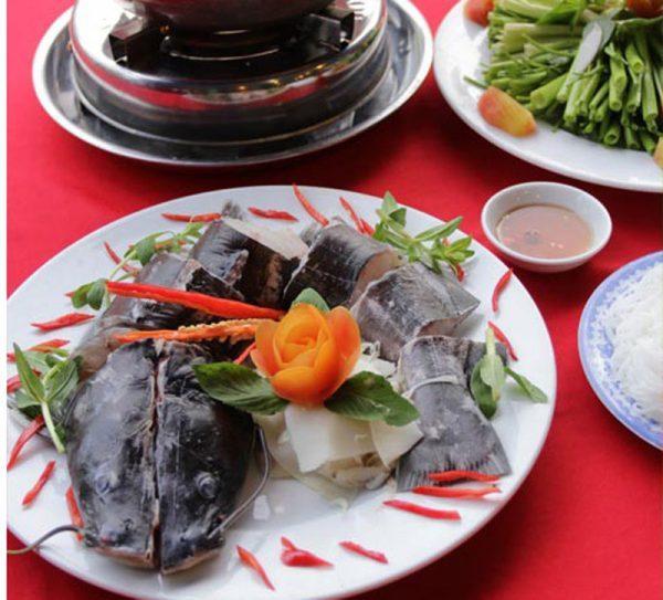 Cá lăng- đặc sản Tây Nguyên