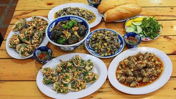 Quán ốc Thanh- quán ăn vặt ở Đà Nẵng