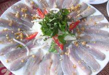 Gỏi cá trích đặc sản Kiên Giang
