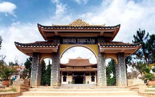 Thiền Viện Trúc Lâmđịa điểm du lịch Lâm Đồng