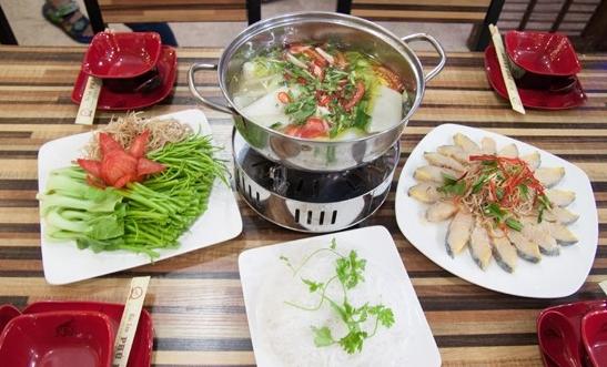 Cách nấu món lẩu cá tầm Sapa