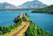 Hồ T'Nưng điểm du lịch Gia Lai